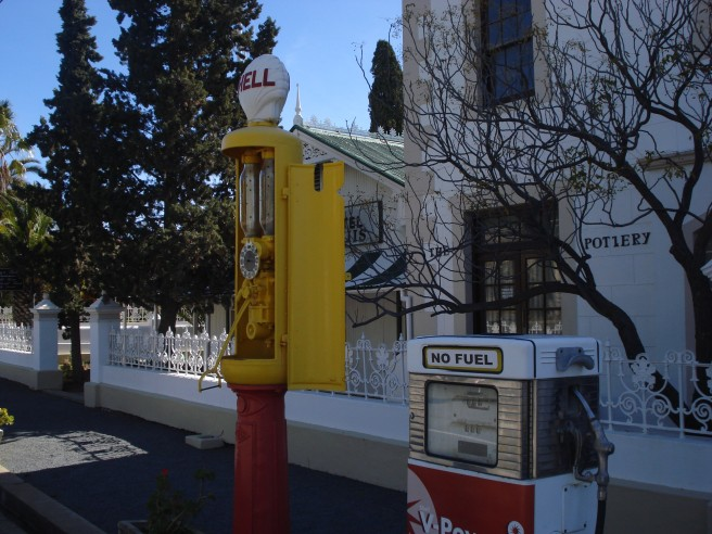 Old- fashioned Fuel pumps
