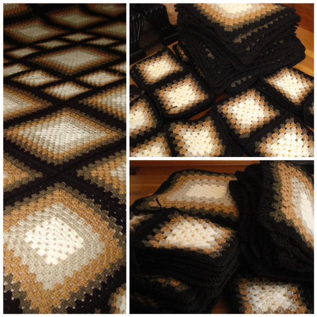 Granny square blankets (5/6)