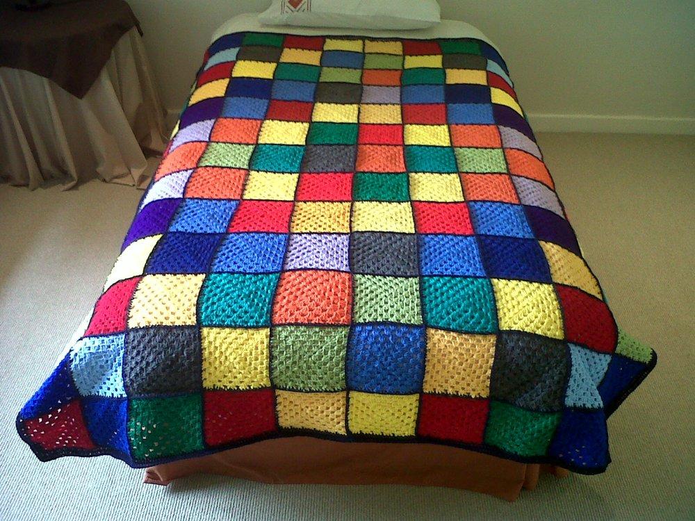 Granny square blankets (2/6)