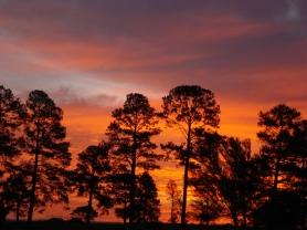 Sunset over Eshowe, KwaZulu Natal