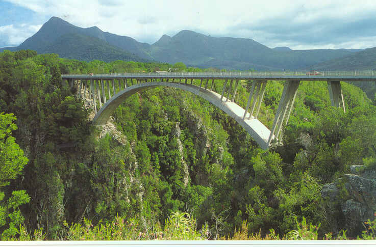 Storm River Bridge in South Africa