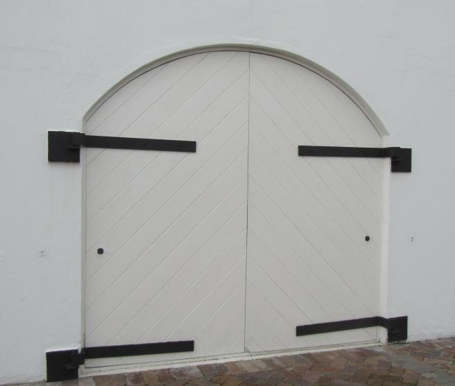 White doors