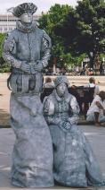 Street art - Living statues in London
