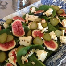 Figs in a salad
