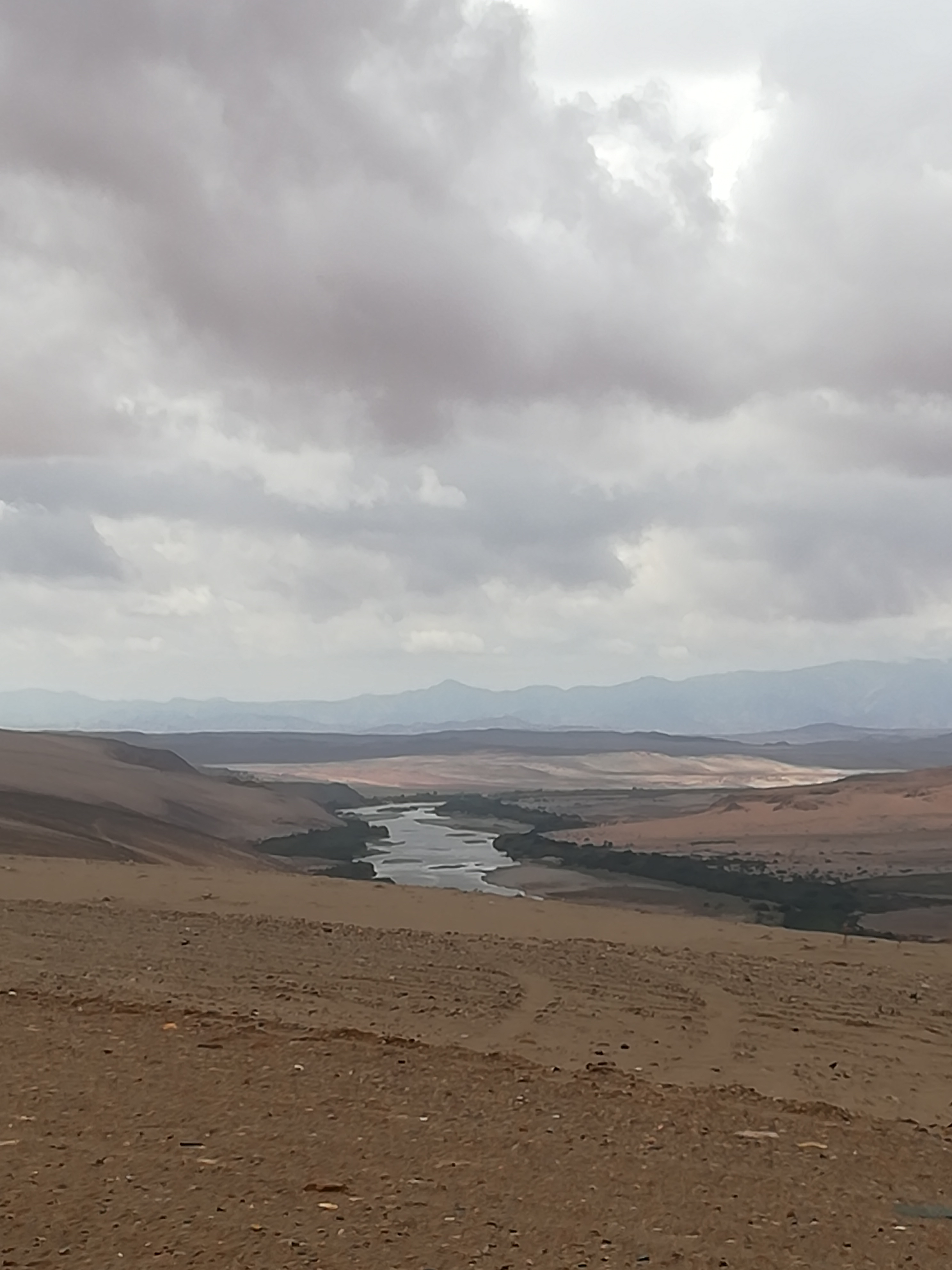 Orange River on the Namibia / South African border
