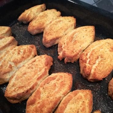 Parmasan pan biscuits